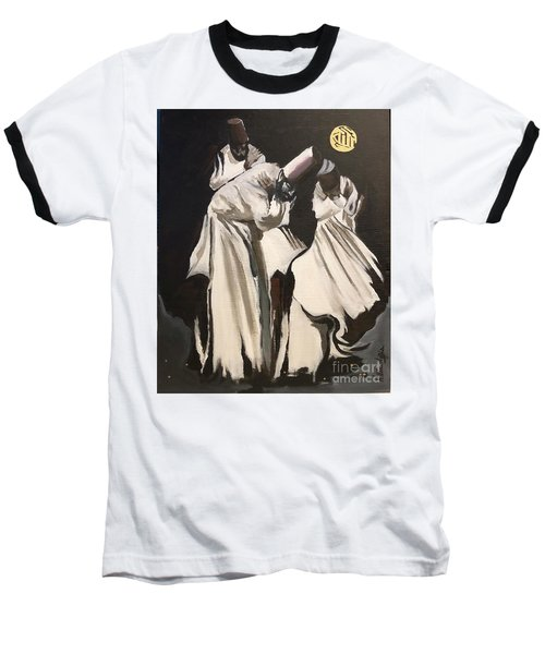Baseball T-Shirt featuring the painting Loyalty  by Nizar MacNojia
