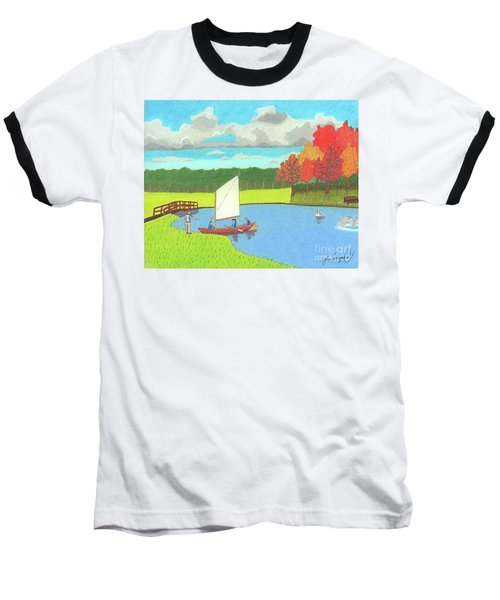Testing The Waters Baseball T-Shirt