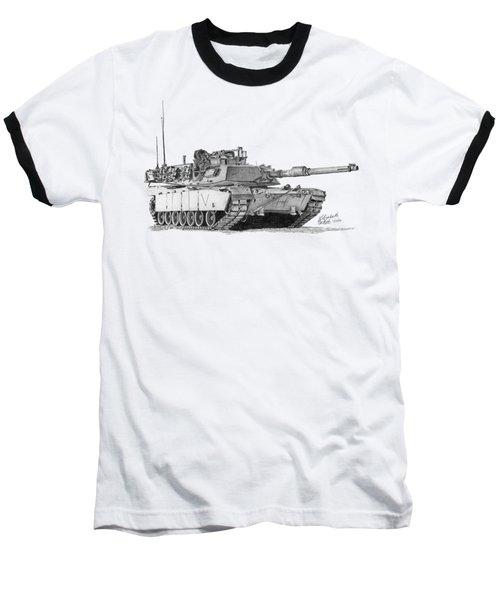 M1a1 C Company Commander Tank Baseball T-Shirt