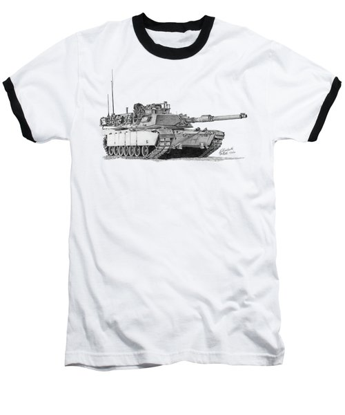 M1a1 Tank Baseball T-Shirt