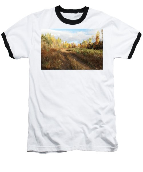 Maine Wilderness Color Baseball T-Shirt
