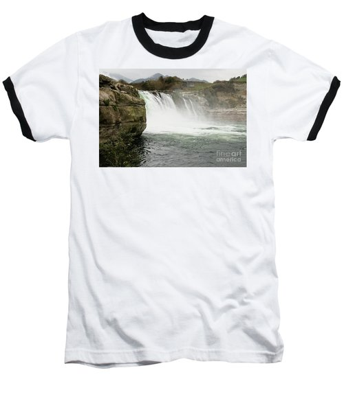 Maruia Falls Baseball T-Shirt