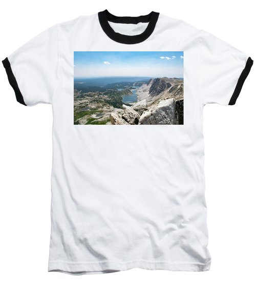 Medicine Bow Peak Baseball T-Shirt