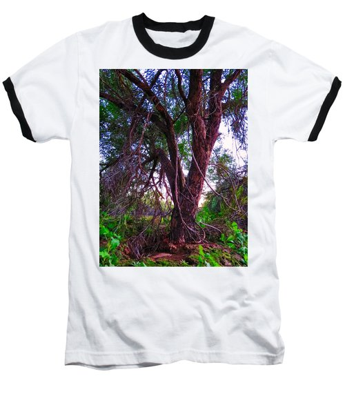 Baseball T-Shirt featuring the photograph Mesquite By The Wash by Judy Kennedy
