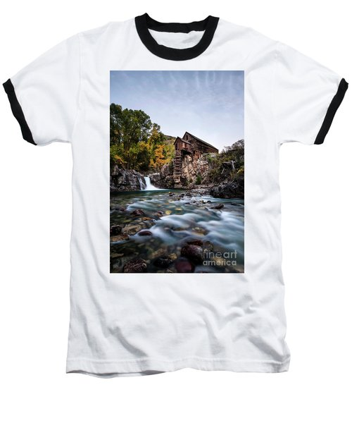 Mill On Crystal River Baseball T-Shirt