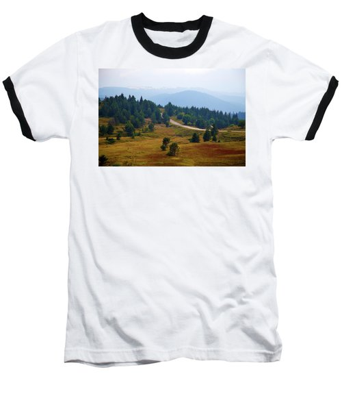 Baseball T-Shirt featuring the photograph Misty Afternoon by Milena Ilieva