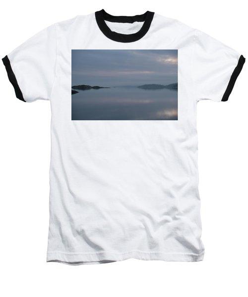 Misty Day Baseball T-Shirt