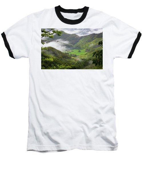 Misty Farm I Baseball T-Shirt