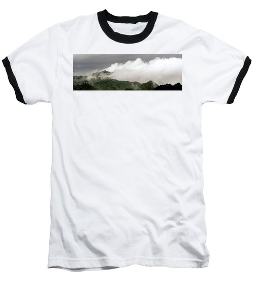 Misty Mountains II 3x1 Baseball T-Shirt