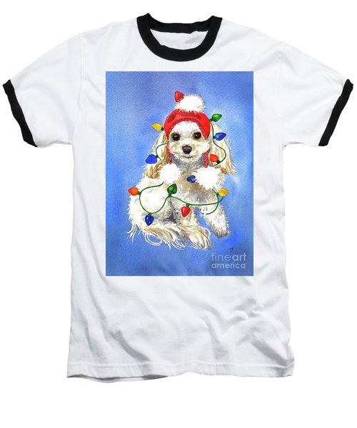 Mocha Merry And Bright Baseball T-Shirt