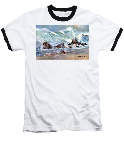 Monster Waves Baseball T-Shirt