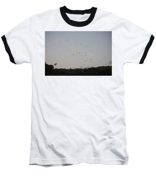 Morning Flock Rise Baseball T-Shirt