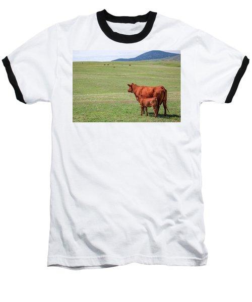 Mother And Daughter Baseball T-Shirt