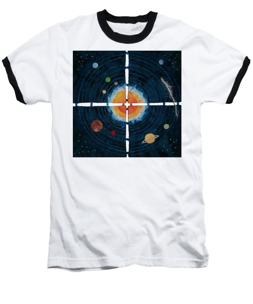 My Very Educated Mother  Just Said Uh-oh, No Pluto Baseball T-Shirt
