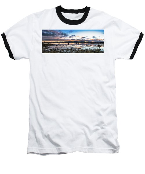 Myre Swapm Walkway On Vesteralen Norway Baseball T-Shirt