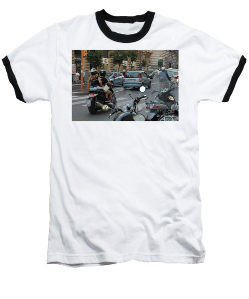 Naples Street Buzz Baseball T-Shirt