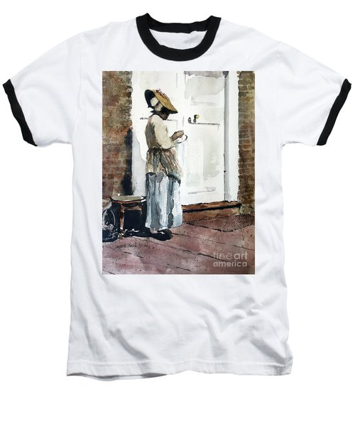 Needle Point Baseball T-Shirt