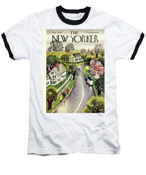 New Yorker May 3rd 1947 Baseball T-Shirt