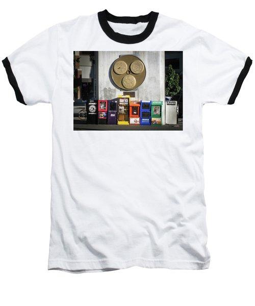Newsstands At Gilmore Baseball T-Shirt