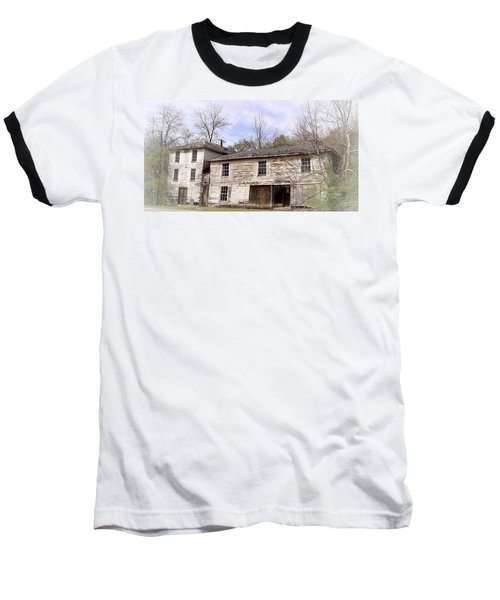 Old Abandoned House In Fluvanna County Virginia Baseball T-Shirt