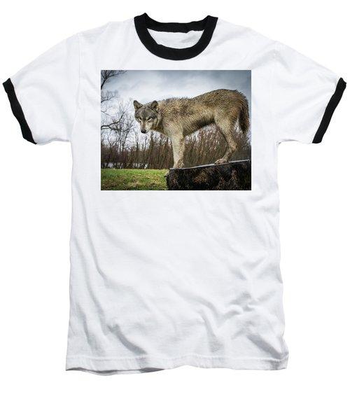 On A Slant Baseball T-Shirt