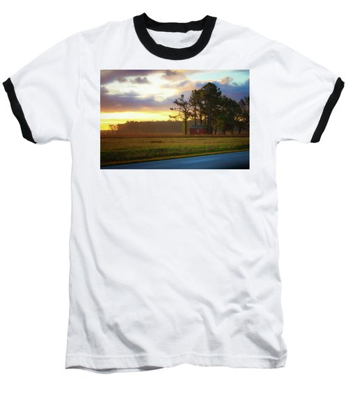 Onc Open Road Sunrise Baseball T-Shirt