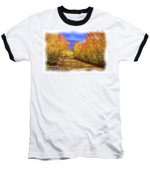 Painted Aspens Baseball T-Shirt