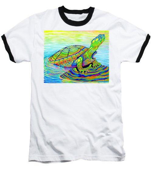 Painted Turtle Baseball T-Shirt