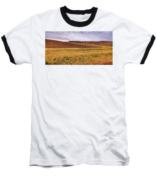 Baseball T-Shirt featuring the photograph Palouse Farmland by David Patterson