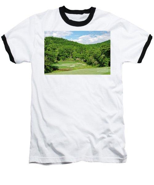 Par 3 Hole 16 Baseball T-Shirt