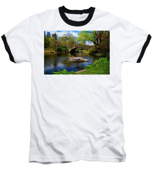 Park Bridge2 Baseball T-Shirt