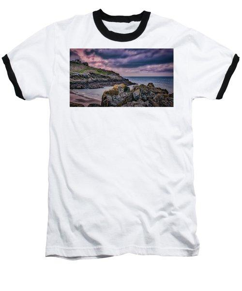 Porthgwidden Dramatic Sky Baseball T-Shirt