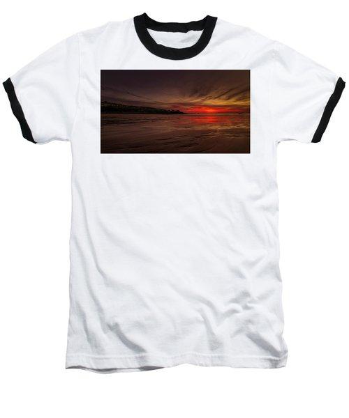 Porthmeor Sunset Baseball T-Shirt