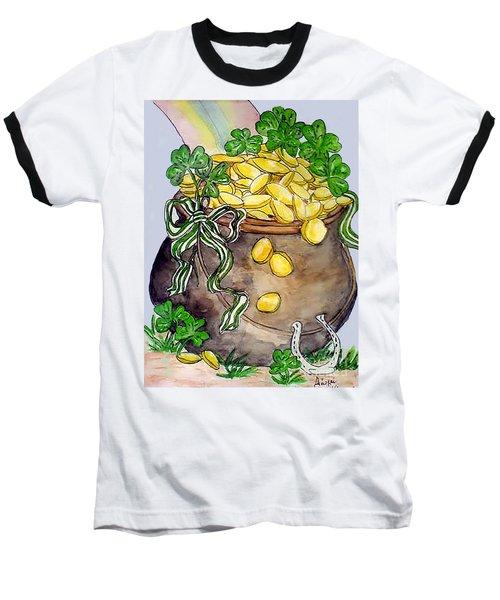 Pot-of-gold Baseball T-Shirt