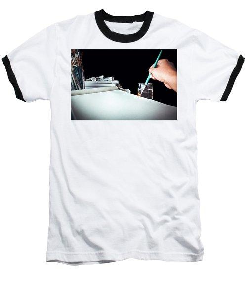 Preparing To Paint Baseball T-Shirt