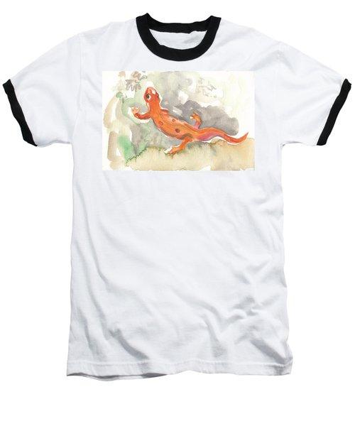 Red Eft Baseball T-Shirt