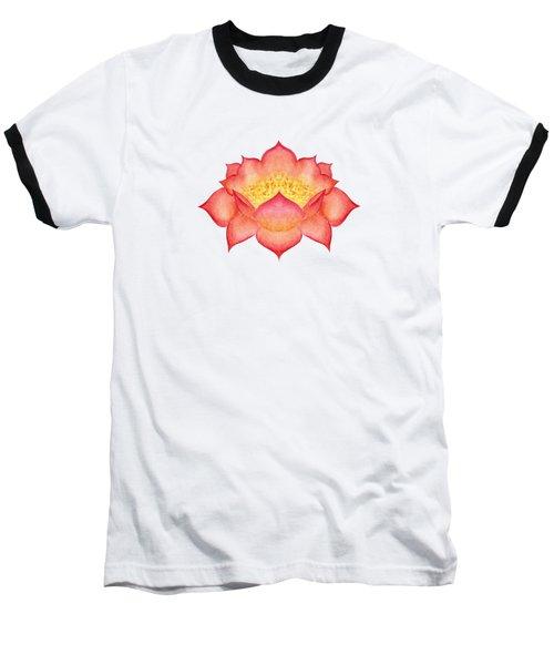 Red Lotus Baseball T-Shirt