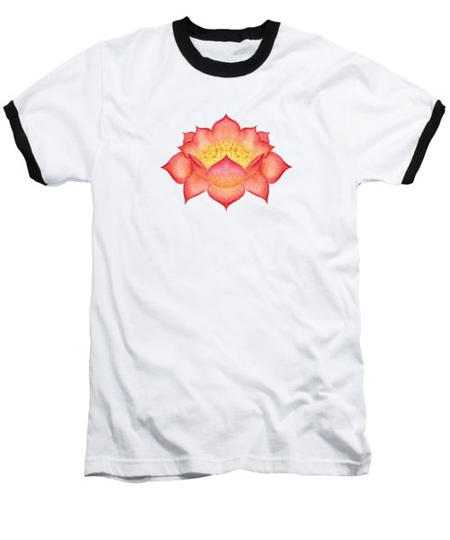 Red Lotus Baseball T-Shirt