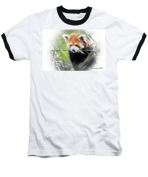 Red Panda Baseball T-Shirt