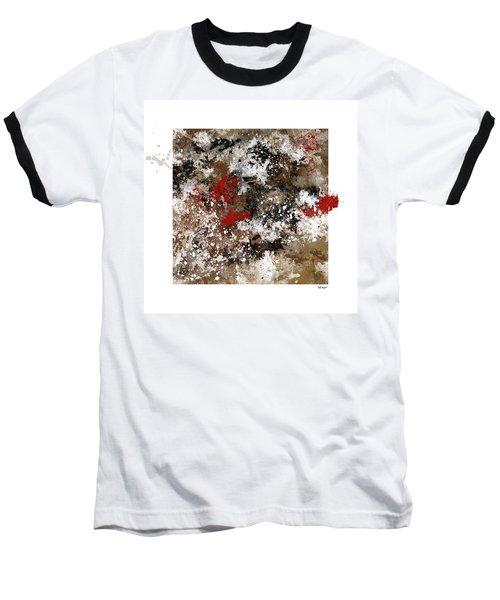 Red Splashes Baseball T-Shirt