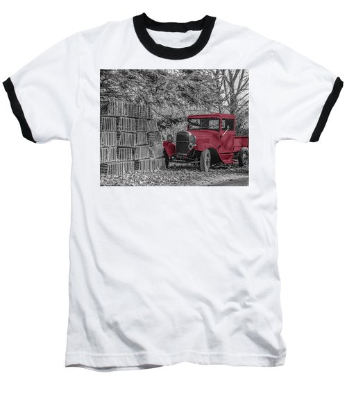 Red Truck Baseball T-Shirt