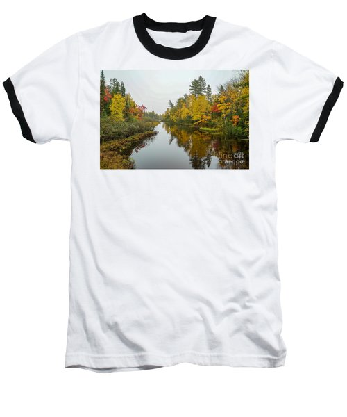 Reflections In Autumn Baseball T-Shirt