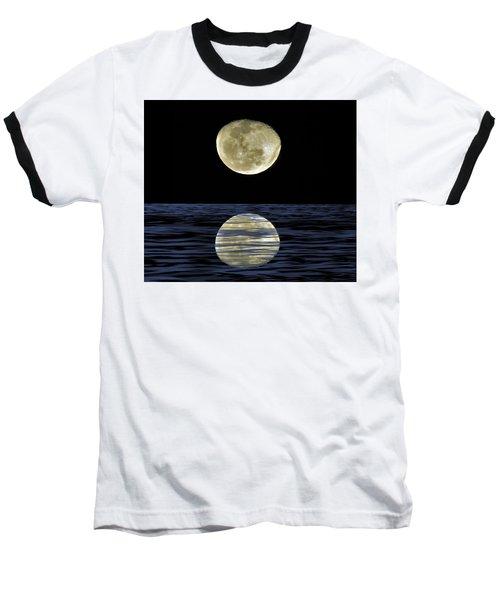 Reflective Moon Baseball T-Shirt