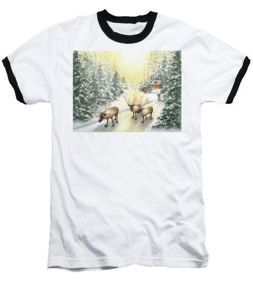 Hoofing It Under The Midnight Sun Baseball T-Shirt