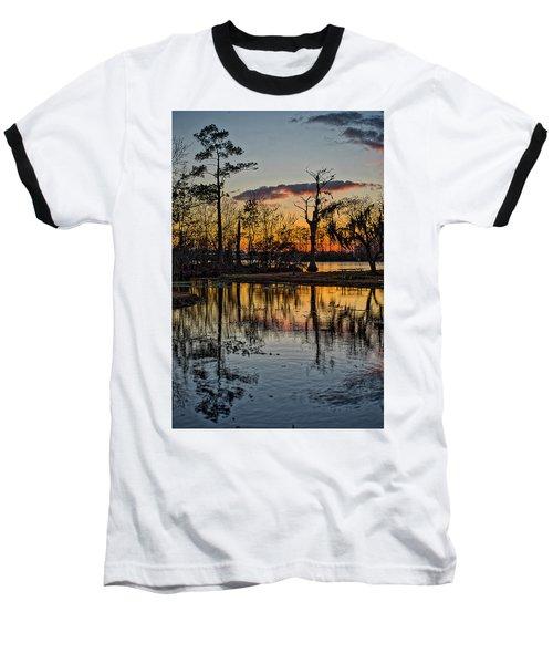 Riverside Sunset Baseball T-Shirt