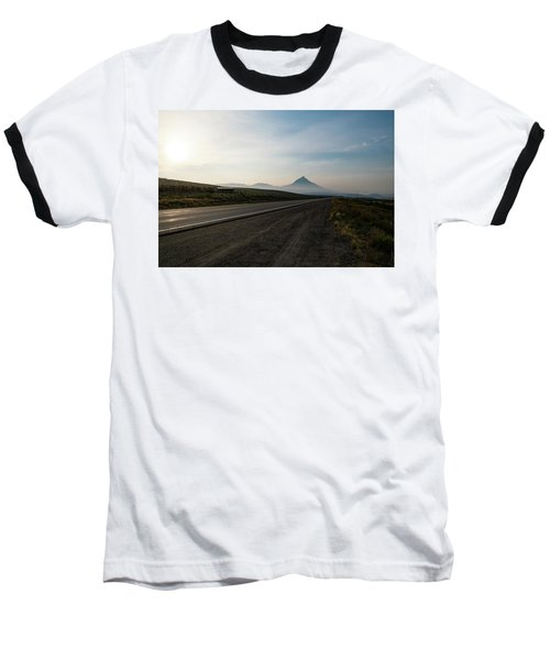 Road Through The Rockies Baseball T-Shirt