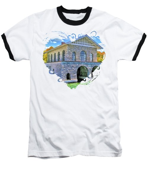 Rock Island Boathouse Baseball T-Shirt