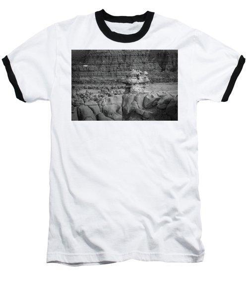 Rocky Desert Formation Baseball T-Shirt