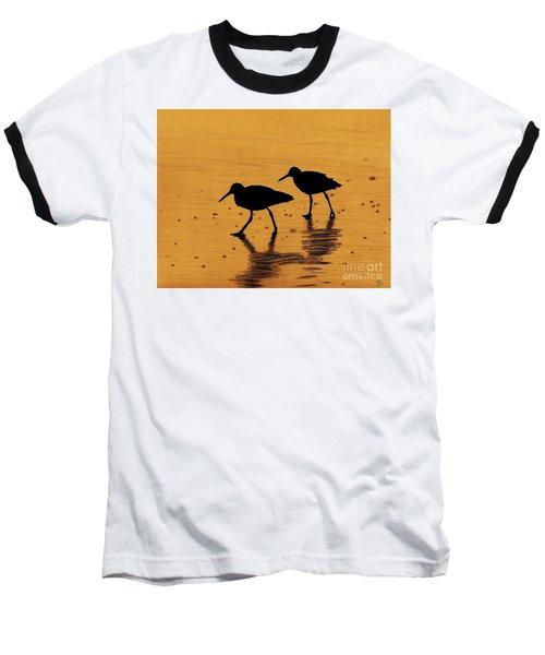 Sandpipers - At - Sunrise Baseball T-Shirt