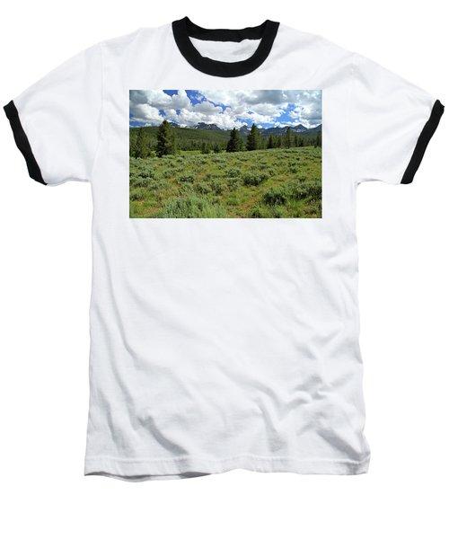 Sawtooth Range Crooked Creek Baseball T-Shirt